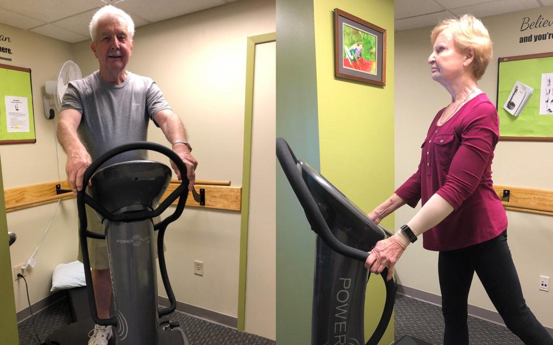 An Energizing Fitness Machine