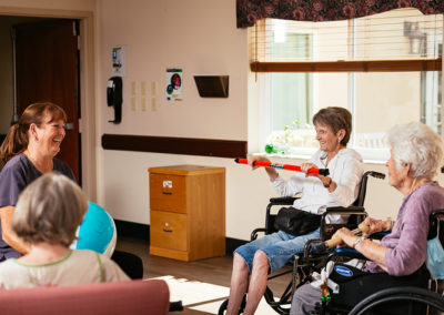 Group of Seniors Rehabbing at Mease Life